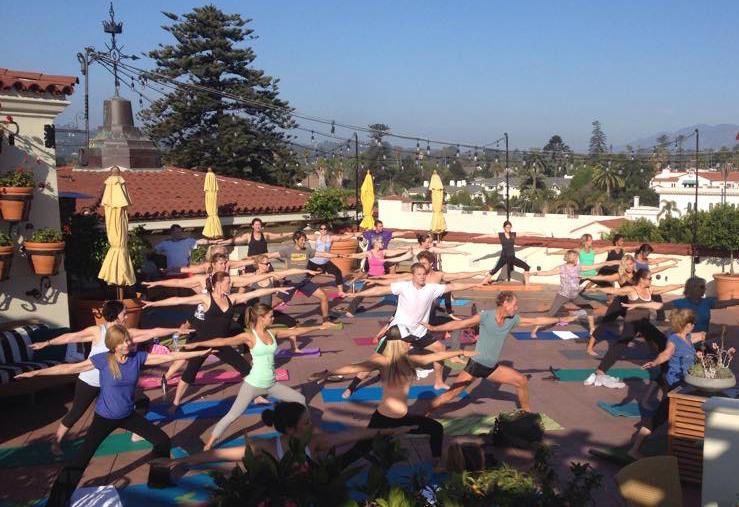 Rooftop-yoga